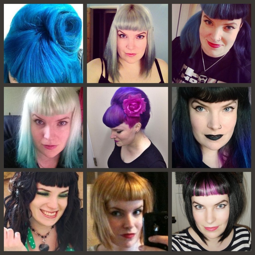 Hair colours